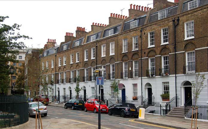 Harry Potter Londres Claremont Square