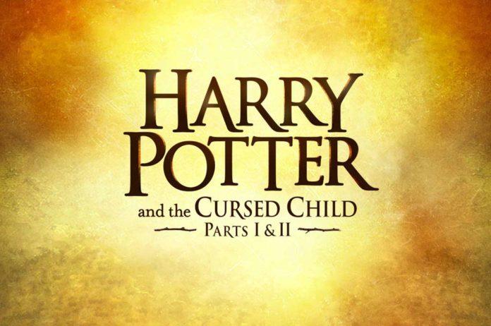 Harry Potter et l'enfant maudit pièce de théâtre Londres Affiche