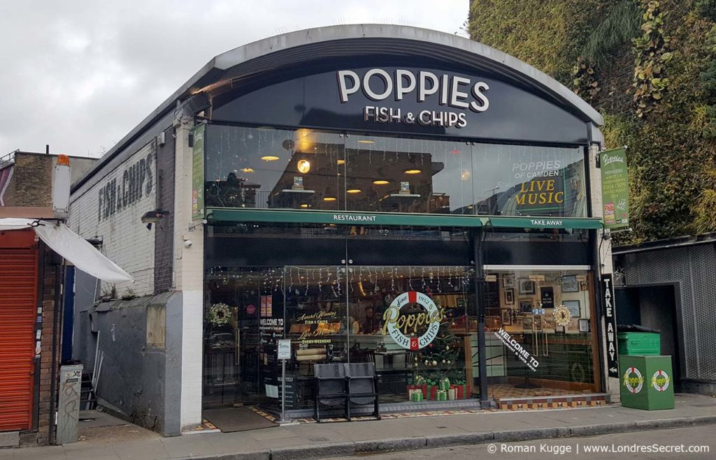 Restaurant Poppies Fish and Chips Londres