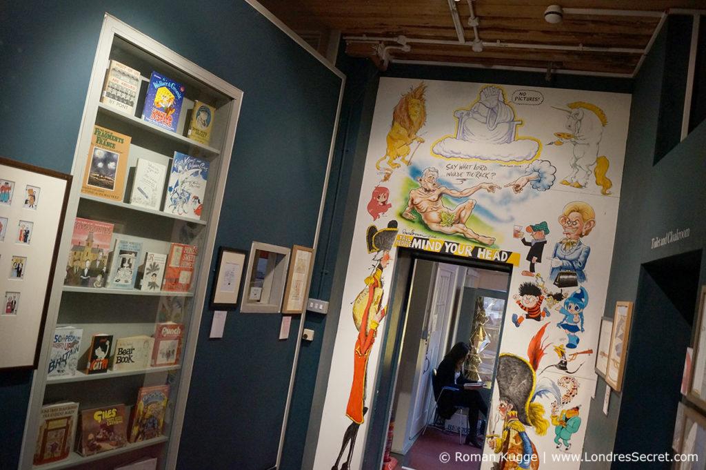 Cartoon Museum le musée de la BD à Londres