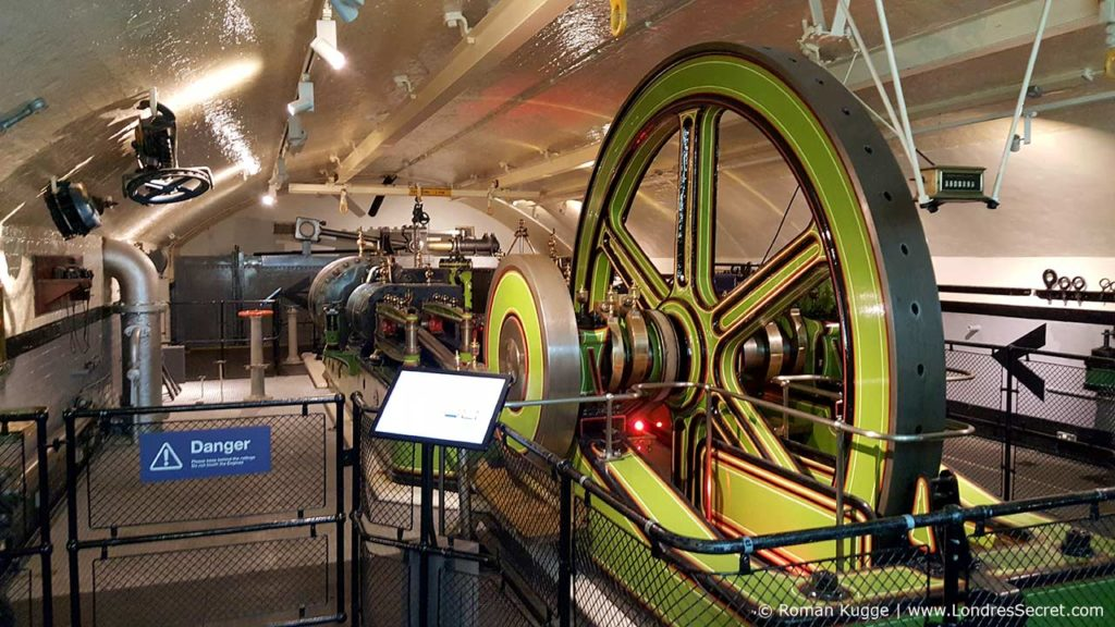 Salle des machines Tower Bridge Londres