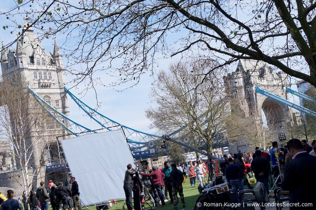 Tournage Tower Bridge Londres