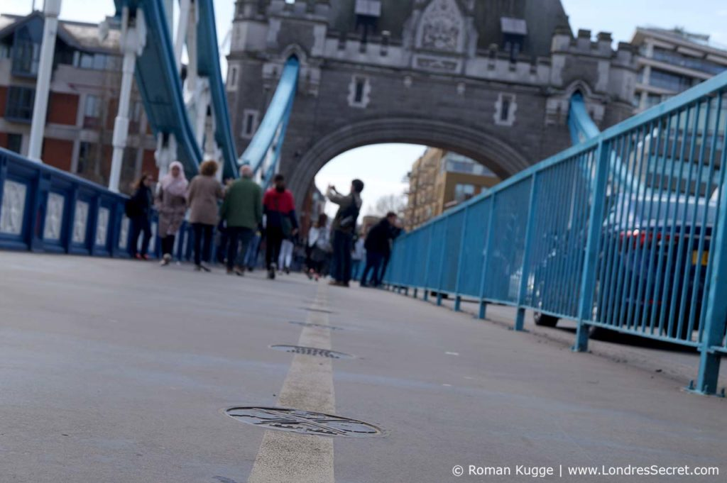 Tower Bridge Londres Walk of Fame