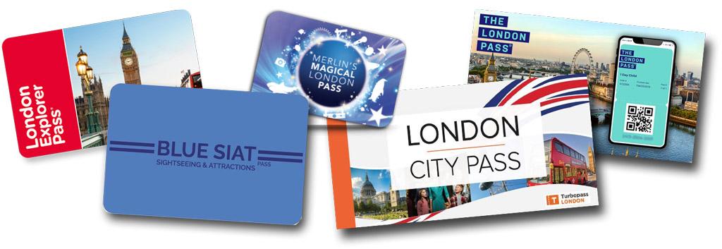 Comparatif Pass pour Londres