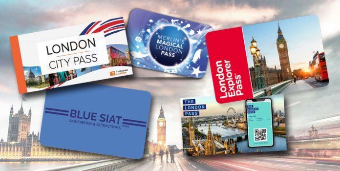 Comparatif pass touristiques pour Londres