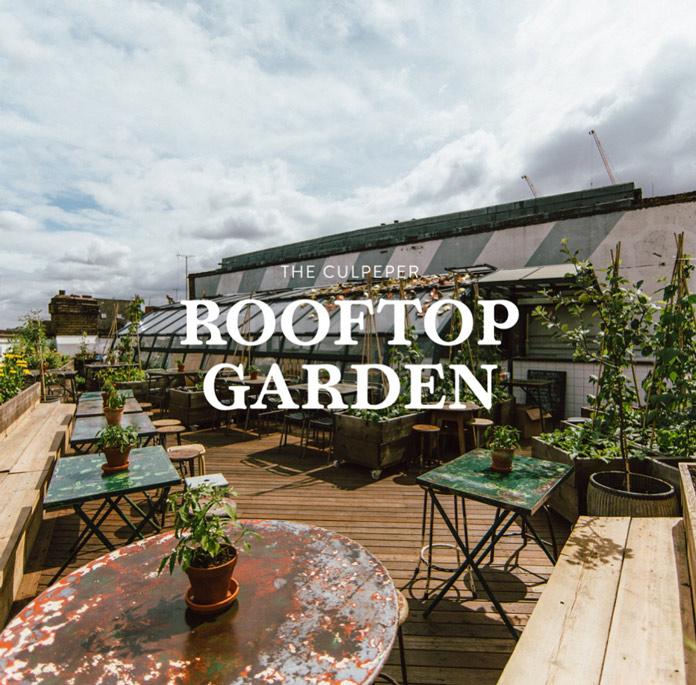 Culpeper Rooftop Garden Londres