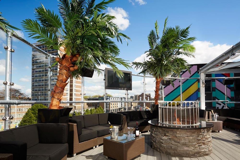 Golden Bee Rooftop Bar Londres