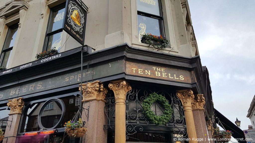 Ten Bells Pub Londres Jack l'Éventreur