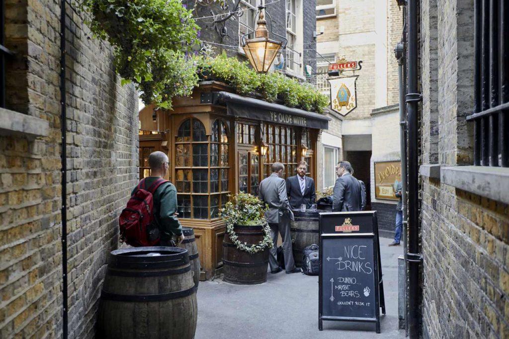 Ye Old Mitre Tavern Londres Pub