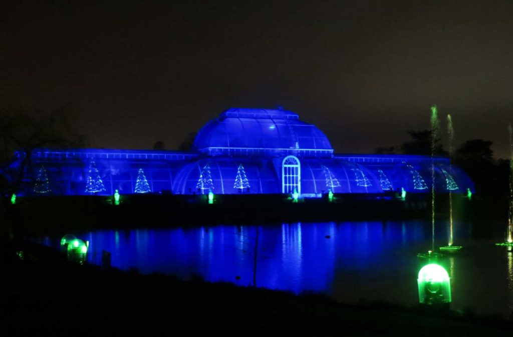 Kew Gardens Londres à Noël Christmas at Kews