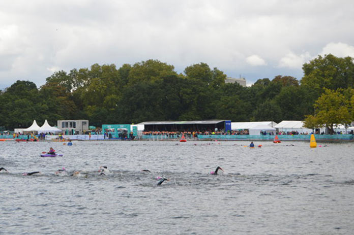 Peter Pan Cup Swimming in the Serpentine