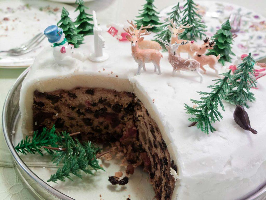 Christmas Cake, le gâteau de Noël