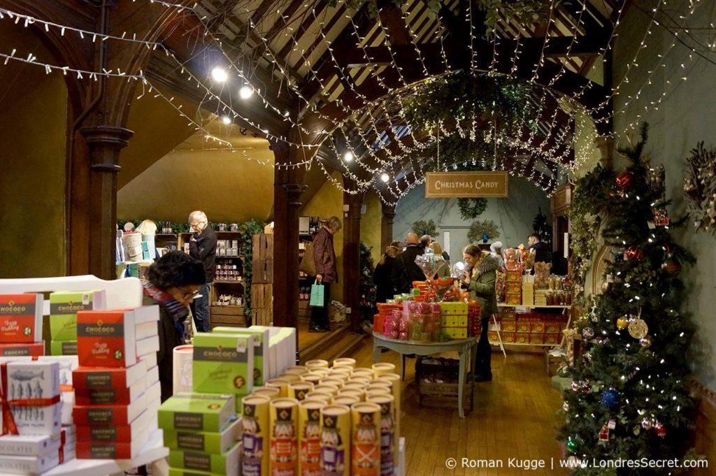 Grand magasin Liberty à Noël