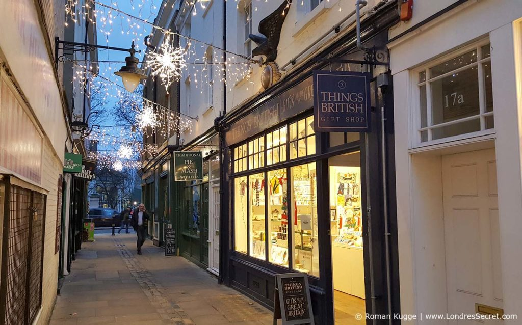 Illuminations de Noël à Greenwich