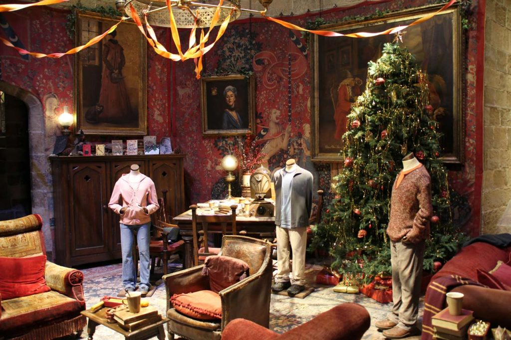 Les studios Harry Potter à Noël