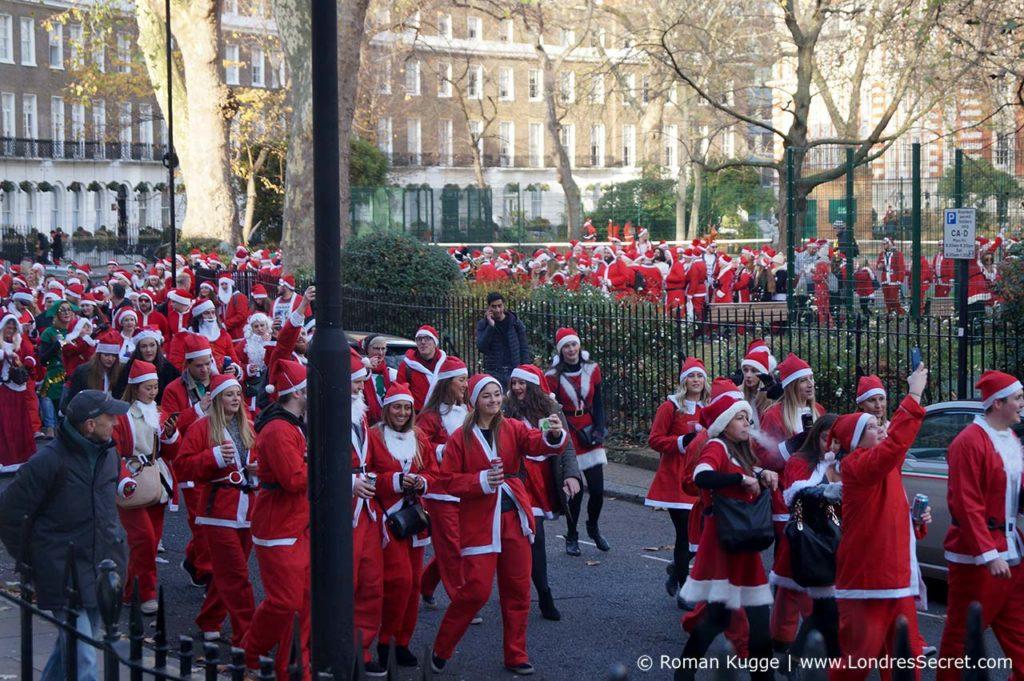 Santa Con Londres