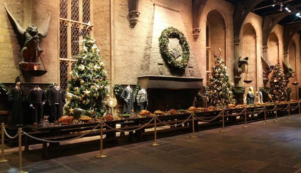 Studios Harry Potter à Noël