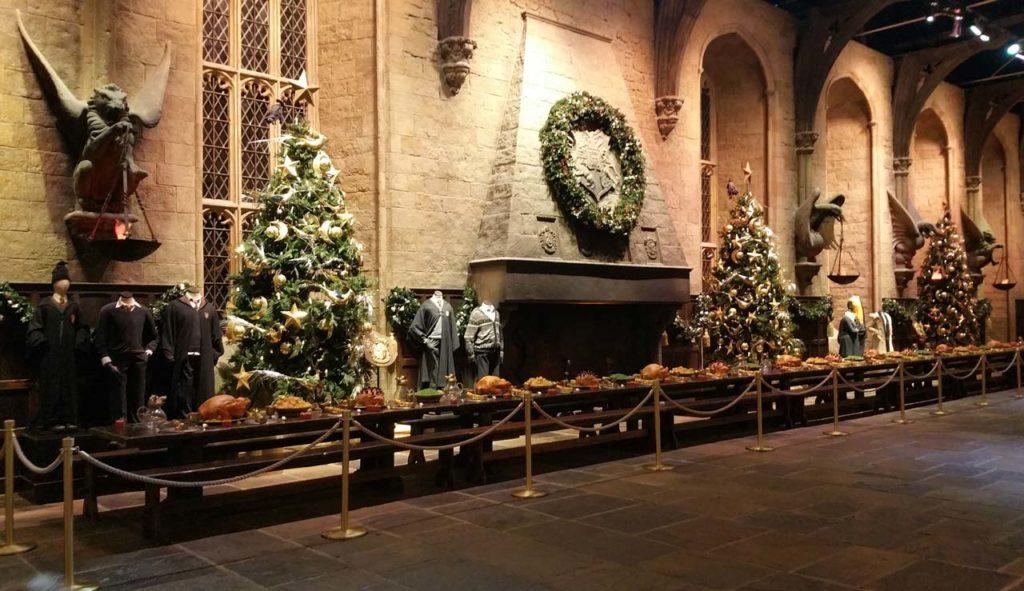 Studios Harry Potter à Noël