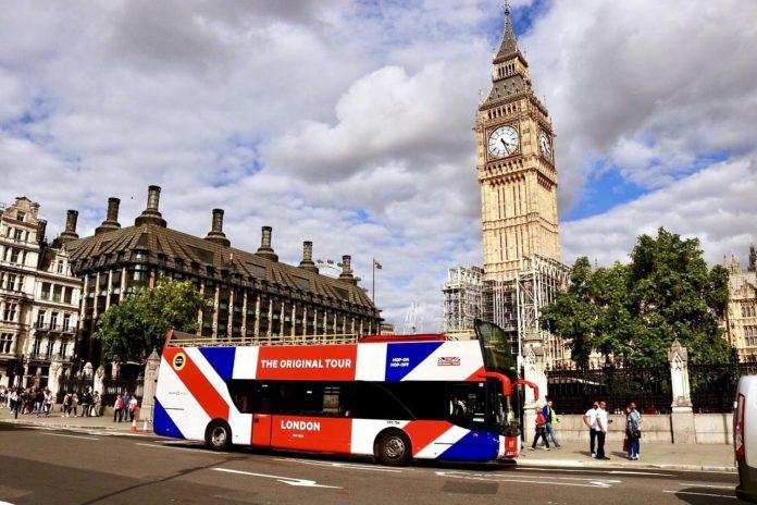 Bus touristique Londres Hop-On Hop-Off