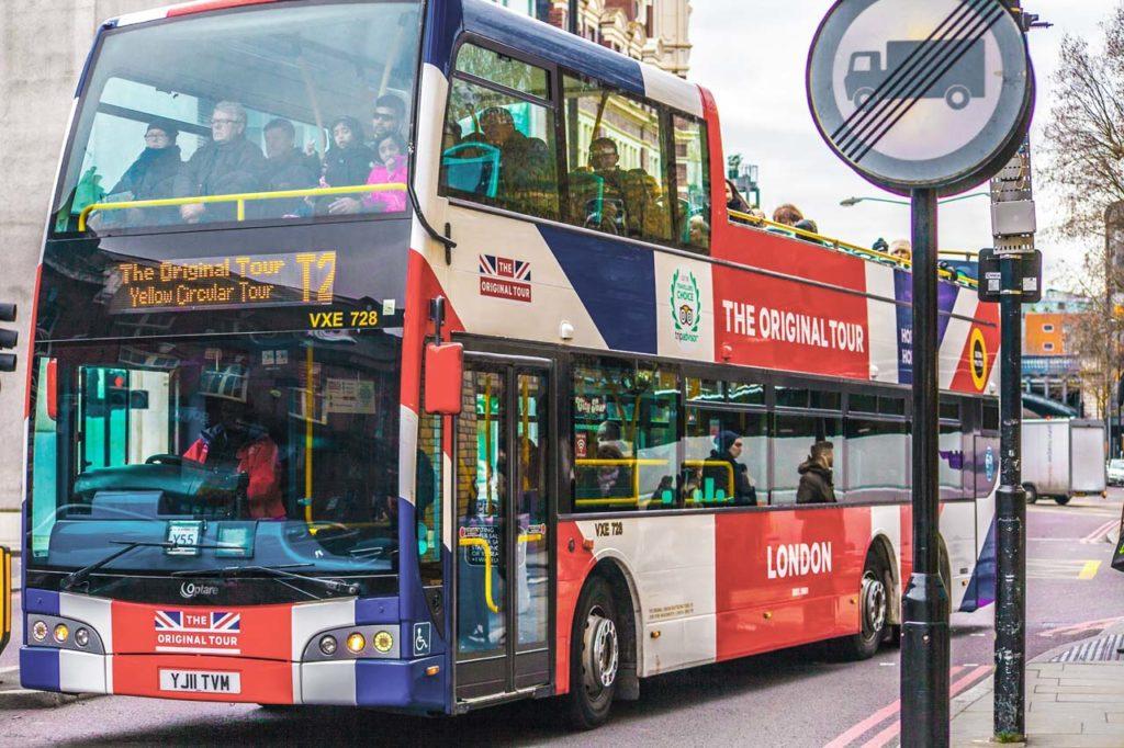 Bus touristique Londres The Original Tour