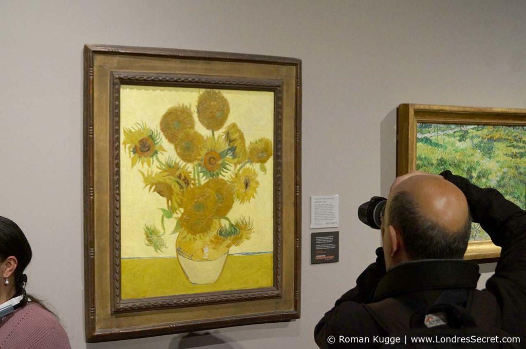 National Gallery à Londres Tournesols Van Gogh