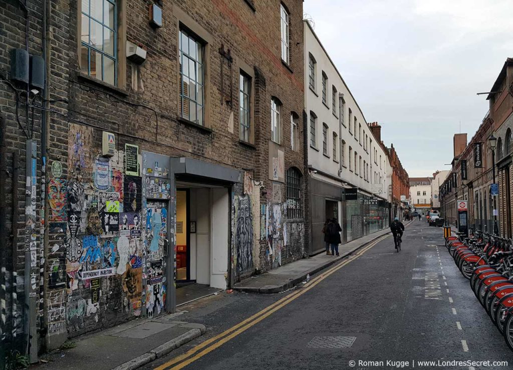 Quartier Whitechapel Londres