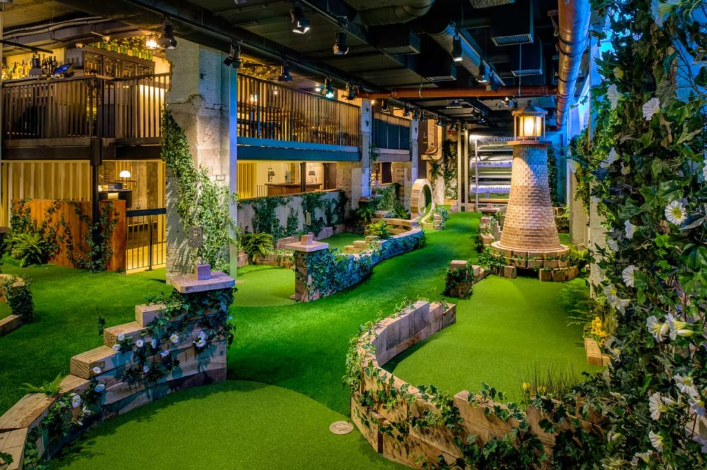 Swingers City Minigolf Bar Londres