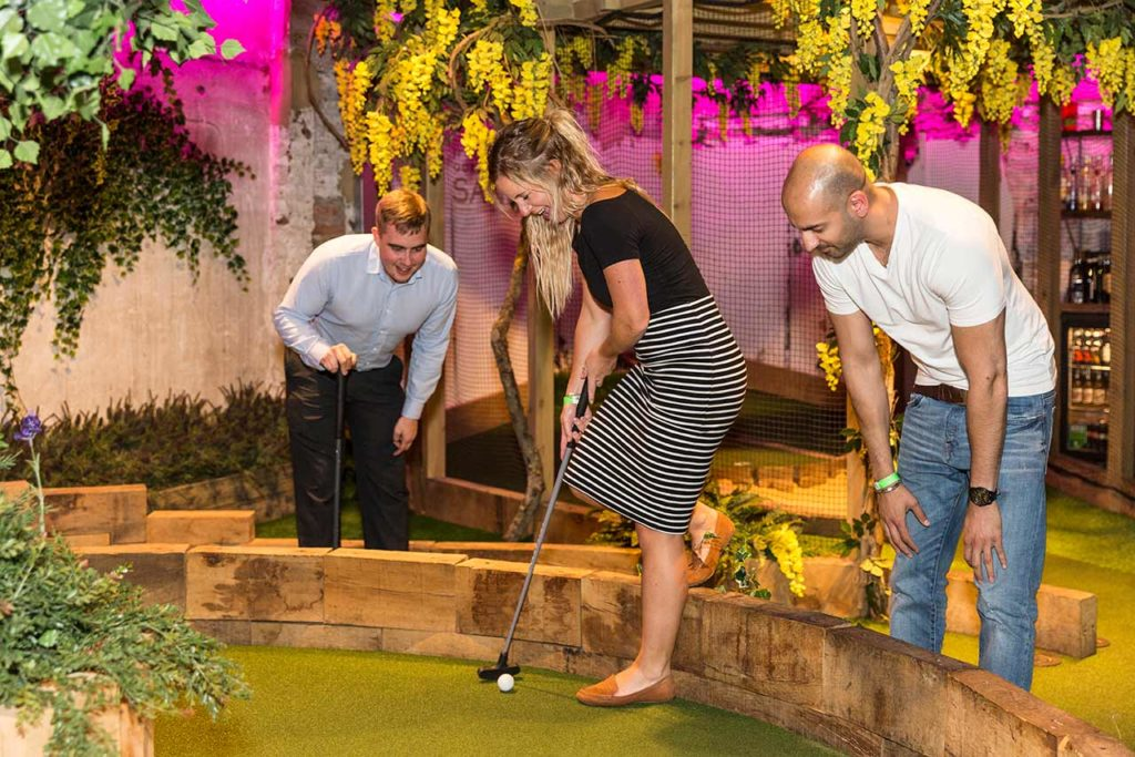 Swingers Minigolf Bar Londres
