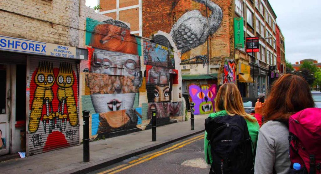 Visite Street Art Londres