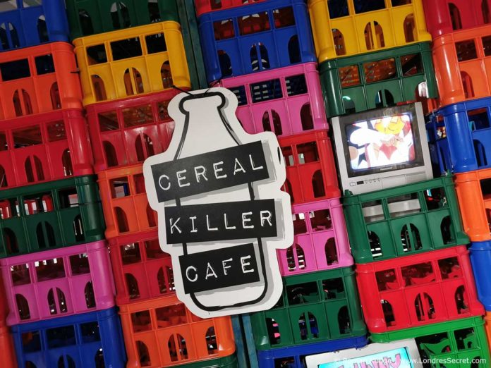 Bar à céréales Cereal Killer Cafe à Londres