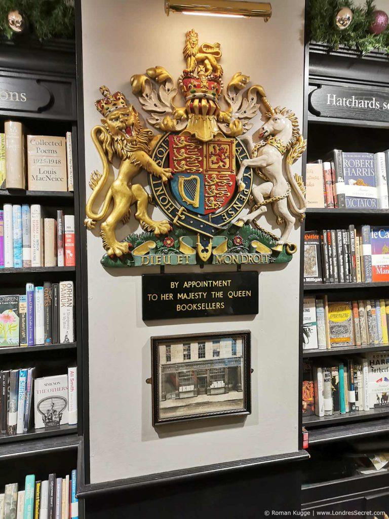 Librairie Hatchards Londres
