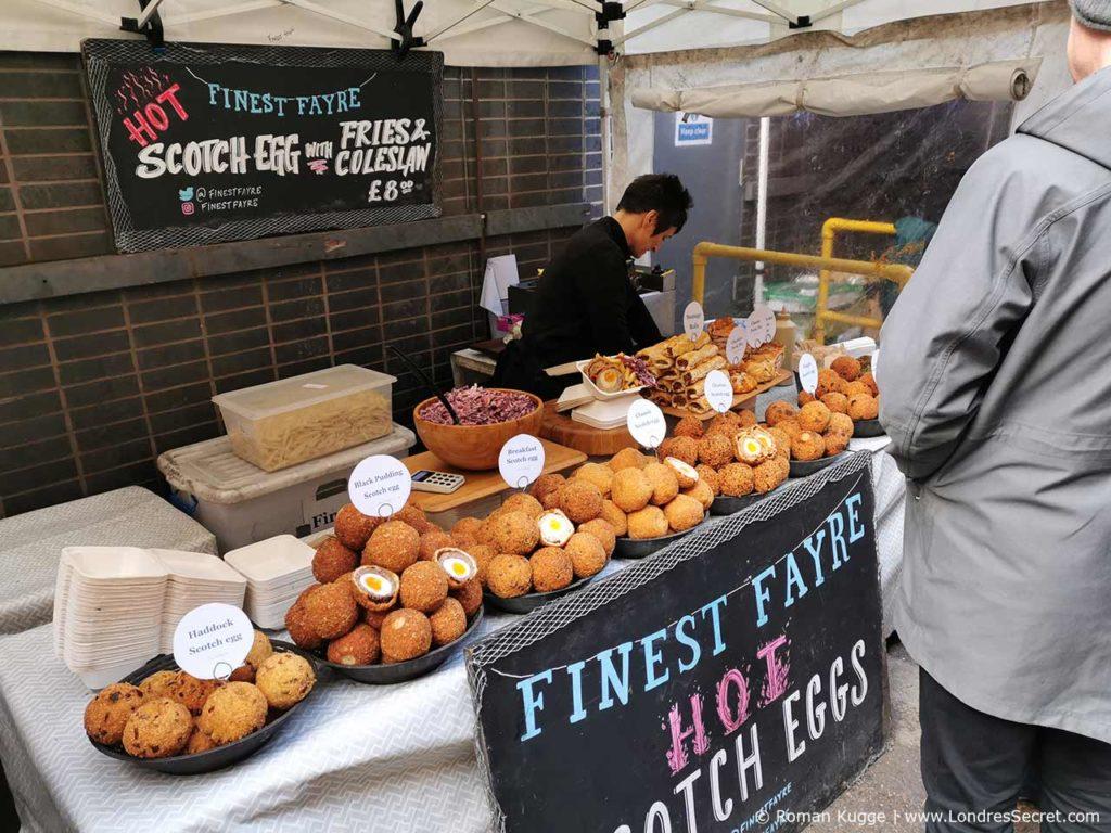 Marché Maltby Street Market à Londres