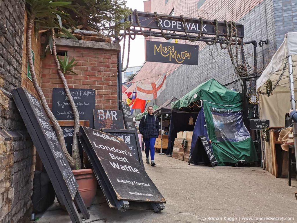 Marché Maltby Street Market à Londres The Ropewalk